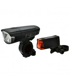 Dansi StVZO LED Bicycle Light Set (Front & Rear) 44001