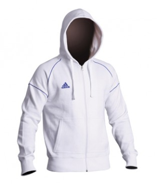 Adidas Martial Arts ADISBU03 White Sports Hoody Size Small
