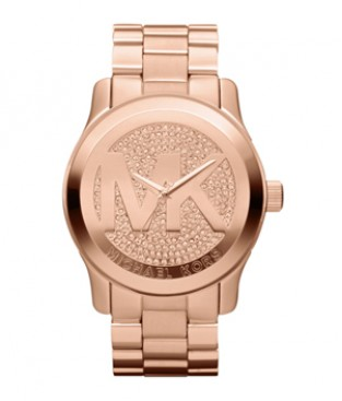 Genuine Michael Kors MK5661 Oversized Rose Golden Watch
